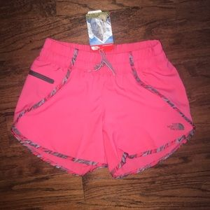 The North Face shorts, size XS